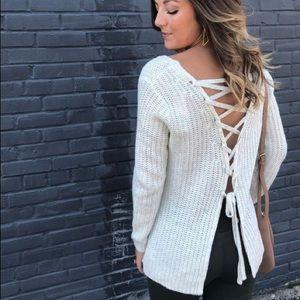BB Dakota Womens Bedroom Dancing Sweater